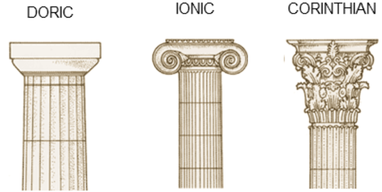 Greek Architecture Columns Cartoon Of With Design Inspiration